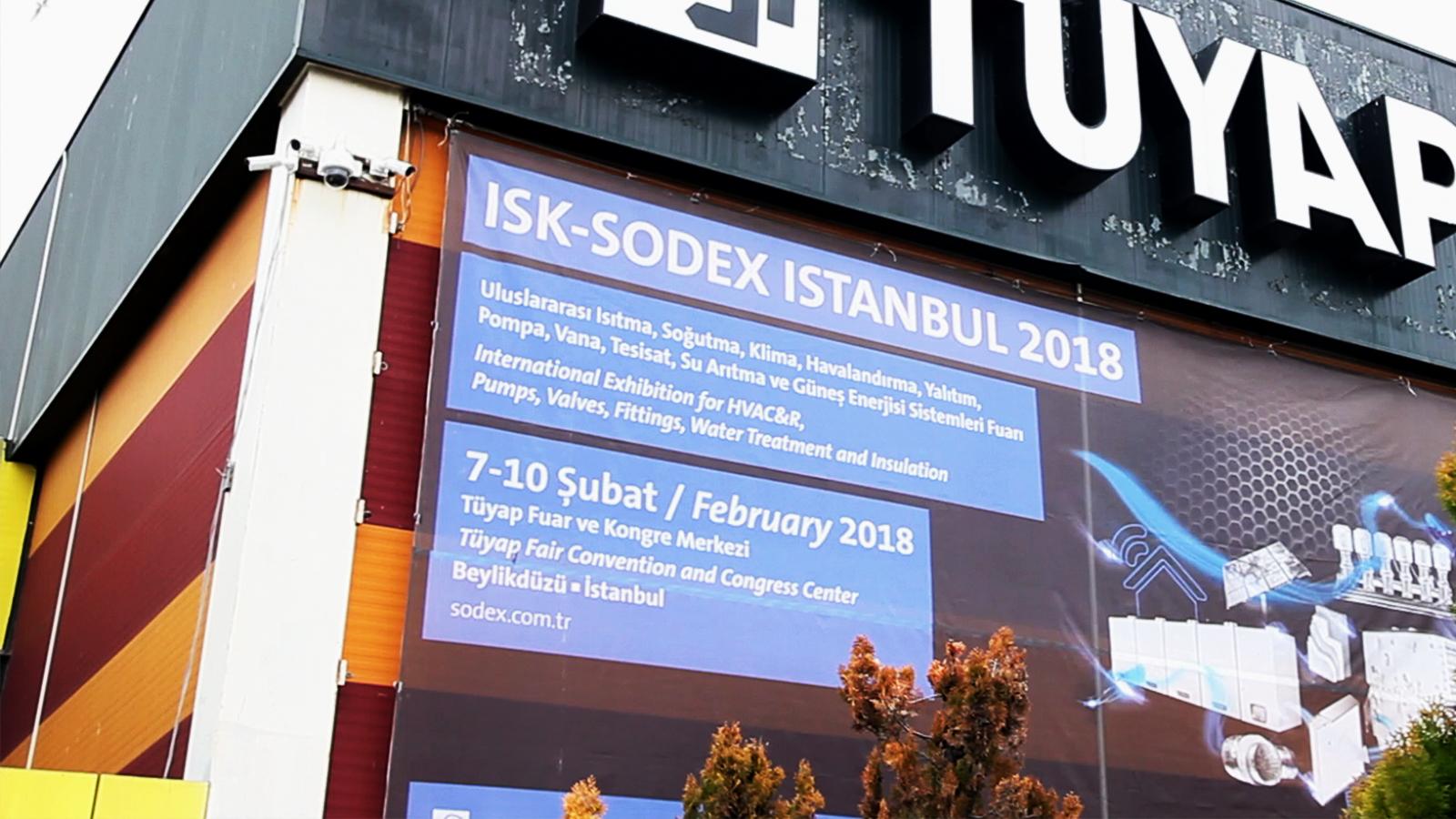 ISK-SODEX Fuarı'ndayız!